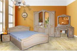 Спальный гарнитур Анастасия (шкаф 4-х дверный)