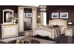 Спальный гарнитур Карина 3 (цвет бежевый)