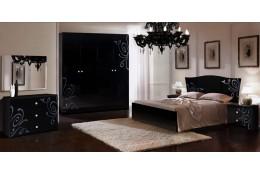 Спальня Европа 9 (цвет черный)
