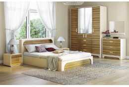 Модульная мебель для спальни Терра Люкс