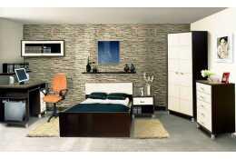 Модульная спальня Домино Венге