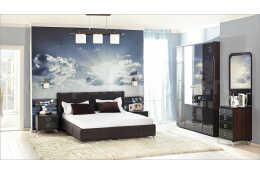 Мебель для спальни Делия Шоколад