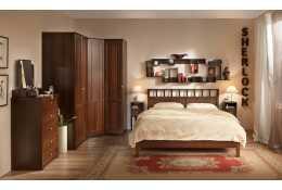 Мебель для спальни Sherlock (орех шоколадный)