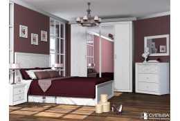 Модульная мебель для спальни Адель