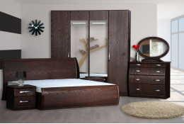 Спальный гарнитур Модена орех
