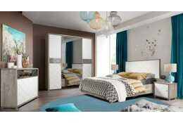 Модульная спальня Кристал