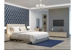 Модульная спальня Калипсо (туя светлая)