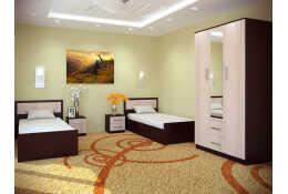 Модульная мебель для спальни Фиеста (композиция 1)